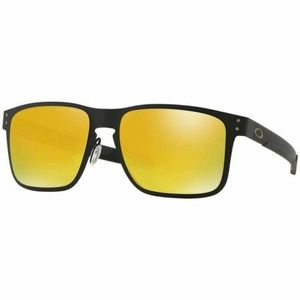 Oakley Square Sunglasses W/24K Iridium Mirror Lens